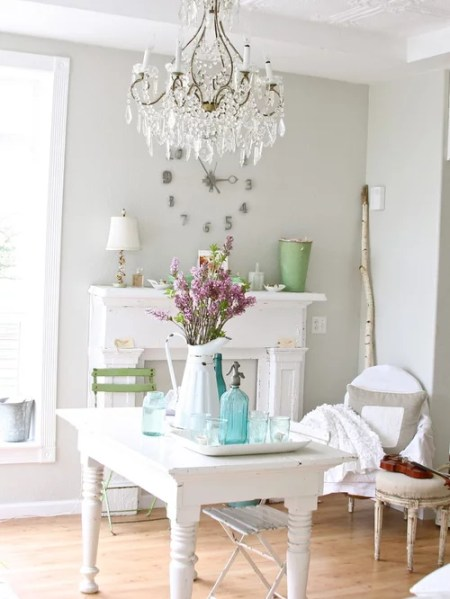 shabby chic home office ideas Shabby Chic Office Ideas, Pictures, Remodel and Decor