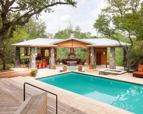 Contemporary Pool House Ideas & Design Photos Houzz