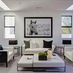 Laight Street Loft Industrial Living Room New York