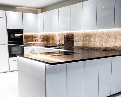 gold kitchen anti fatigue mat rose splashback