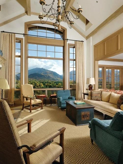 Large Windows Treatments  Houzz