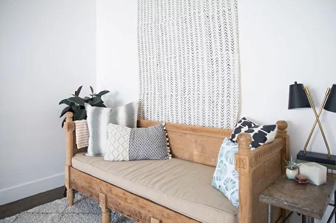 Modern Bedroom by Caroline Sharpnack