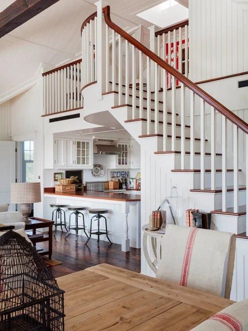 Exposed Stairs  Houzz