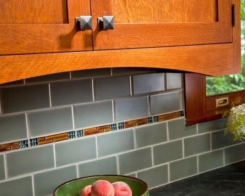 craftsman style kitchen hardware moen faucet leaking arts and crafts backsplash | houzz