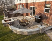 Paver Patio Fire Pit | Houzz
