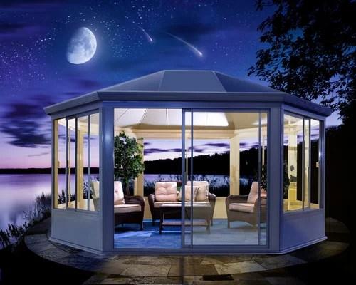 Gazebo All Aluminum And Glass Windows And Doors