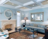 Light Blue Walls | Houzz