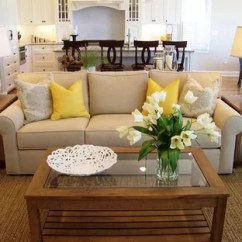 Ethan Allen Living Room Ideas Photos Of Rooms With Brown Leather Sofas Houzz Inspiration For A Remodel In New York