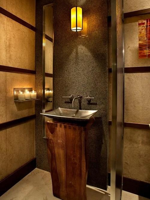 Wood Pedestal Sink Home Design Ideas Pictures Remodel