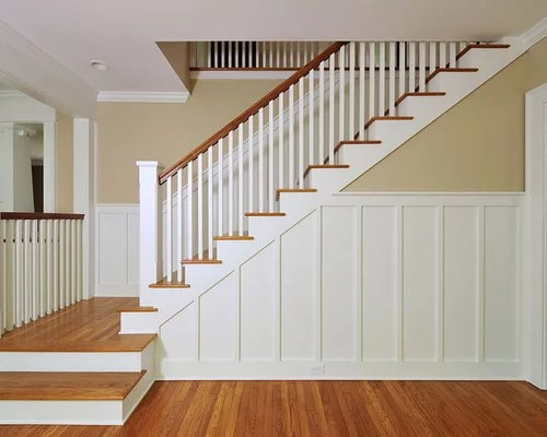 Craftsman Style Staircase Home Design Ideas Pictures