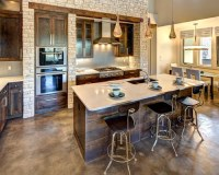 Stained Concrete Floor Home Design Ideas, Pictures ...