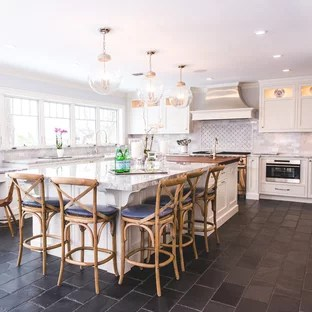 slate floor kitchen make a island 75 most popular farmhouse design ideas for 2019 large eat in designs u