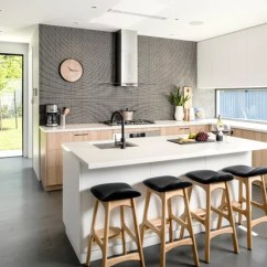 Dark Kitchen Floors Sink Pipes How To Choose Cabinetry For Houzz Contemporary