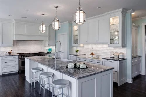beveled subway tile kitchen stainless steel backsplash and un in fresh traditional aurora il design remodel more info