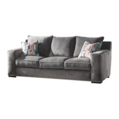 8 Way Hand Tied Sofa Brands In Canada Extra Long Cover 50 Most Popular Sofas Couches For 2019 Houzz Acme Furniture Ushury Down Feather With 2 Pillows Gray Fabric