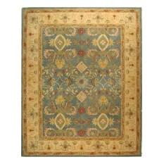 Anatolia Wool Hand-Tufted Light Blue/Ivory Rug AN544D 9'6x13'6