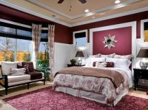 Burgundy Bedroom Home Design Ideas, Pictures, Remodel and ...