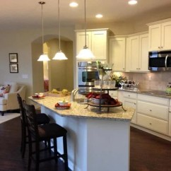 Kitchen Island Breakfast Bar Professional Equipment Epcon's Portico Model Home At The Villas Park Place