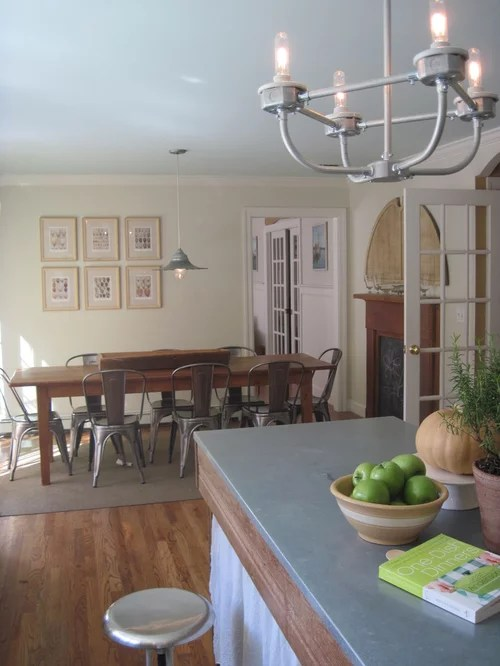 Farmhouse Industrial Style Kitchen On A Budget