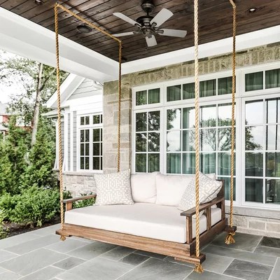 Traditional Porch by Designstorms LLC