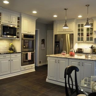 slate floor kitchen cost of custom cabinets 75 most popular design ideas for 2019 stylish mid sized traditional pictures inspiration a timeless l