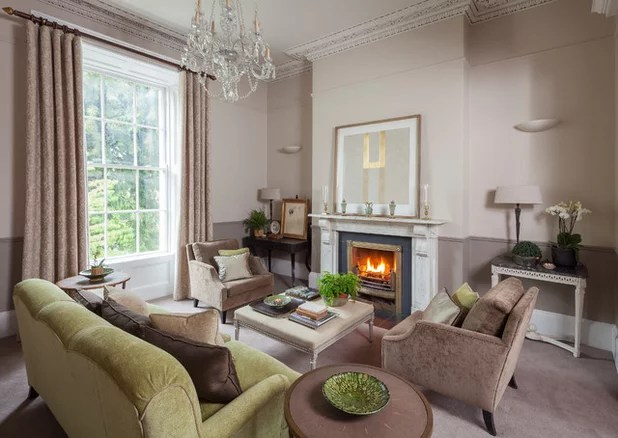 how to decorate a large living room with little furniture pictures 13 strategies for making feel comfortable traditional by merrion square interiors