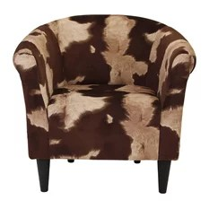 giraffe print chair stackable chairs with arms 50 most popular animal armchairs and accent for 2019 naples grande savannah club cowhide brown