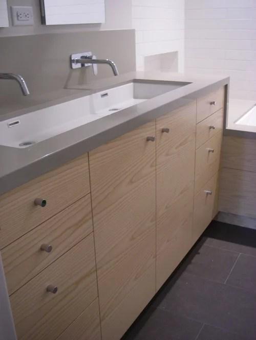 under mount trough sink