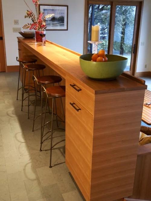 Skinny Kitchen Island Houzz