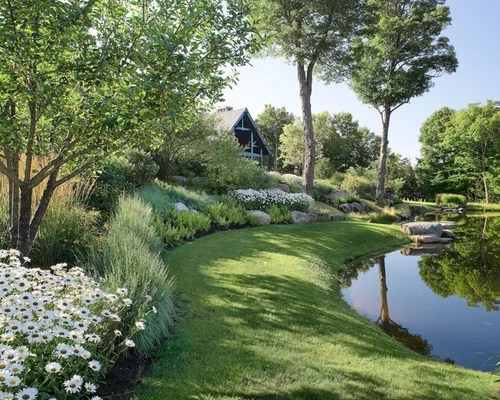 berms landscaping home design ideas
