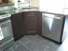 corner sink base cabinet size