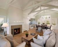 Vaulted Living Room | Houzz