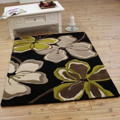 Long Kitchen Rugs Microwave Cart Black And Green – Home Decor