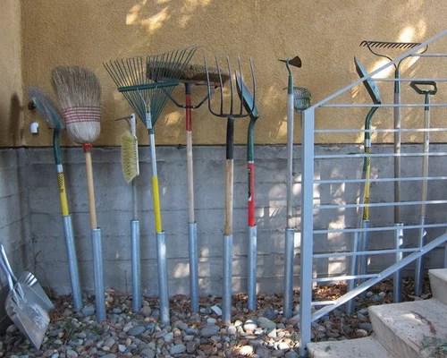 Garden Tool Storage Houzz