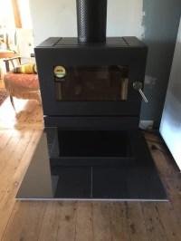 Blaze B600 fireplace