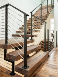 L-Shaped Staircase Design Ideas, Remodels & Photos