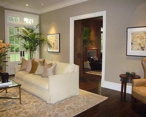 dark floors grey walls living room black leather decorating ideas benjamin moore baja dunes | houzz