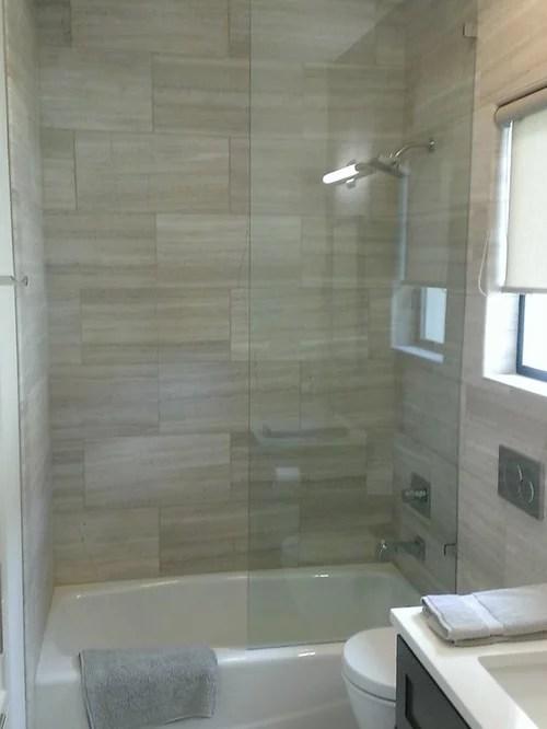 BATHROOM  12 x 24 Valentino Gray Marble Walls  Floor