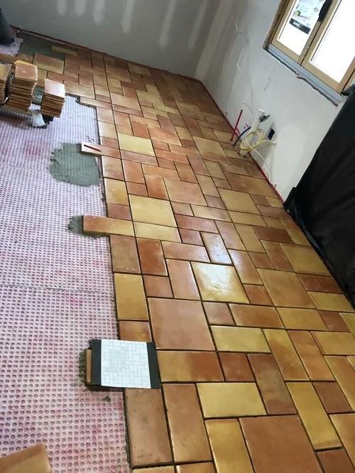 saltillo tile hard on your back