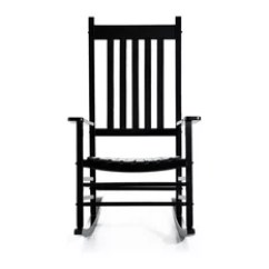 Black Rocking Chairs Diy Throne Chair 50 Most Popular Outdoor For 2019 Houzz Aosom Outsunny Porch Patio Wooden