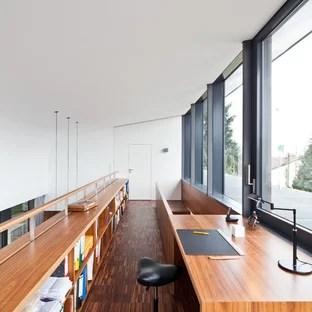 Arbeitszimmer mit Arbeitsplatz Ideen Design  Bilder  Houzz