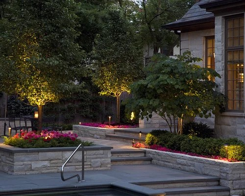 Flower Bed Lighting  Houzz