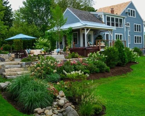 farmhouse landscape ideas design