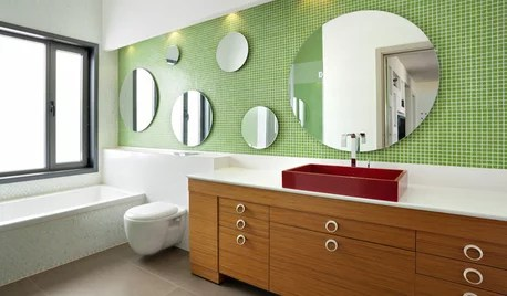 bathroom color on houzz