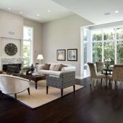 Dark Floors Grey Walls Living Room Brown Floor Gray Wall Houzz Contemporary Open Concept Wood And Idea In