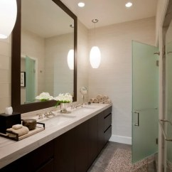 Images Of Modern Rustic Living Rooms Decorated Room Walls Framed Bathroom Mirror   Houzz