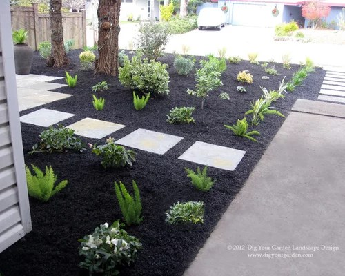 black mulch home design ideas