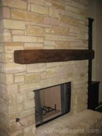 Fireplace Mantels - Faux Wood