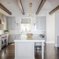 Gray Kitchen Floor Different Types Of Countertops 75 Most Popular Design Ideas For 2019 Stylish Transitional Inspiration Example A U Shaped Dark Wood And Brown
