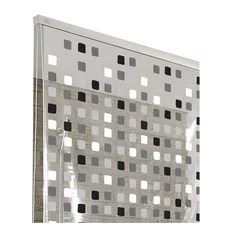 shower curtain sets with a rug